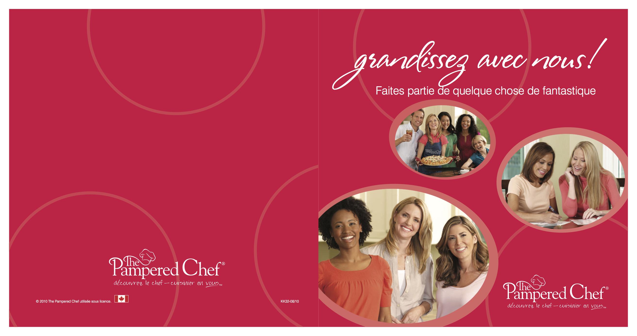Pampered Chef Step Down  _ Paulson Press Inc _ Elk Grove Village, IL